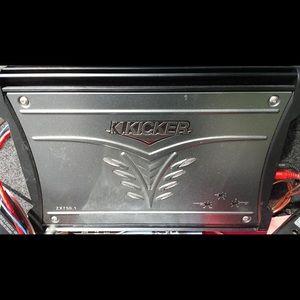 Kicker zx750.1 amp